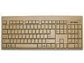 KEYTRONIC KEYBOARD KT400P1 PS2 BEIGE LARGE L SHAPE (KeyTronic: KT400P1)