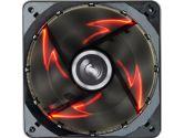 Enermax UCTB12N-R T B Silence Red LED Twister Bearing Low Noise Fan 120MM (ENERMAX: UCTB12N-R)