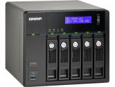 QNAP TS-559 Pro II 5-BAY Hot-Swap Turbo RAID NAS Server 2GBLAN FTP Windows 2USB3.0 3USB2.0 Black (QNAP Systems Inc.: TS-559 Pro II)