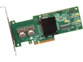 LSI MegaRAID 9240-8I 8 Port 6Gbps PCIEx8 Low Profile SAS/SATA/RAID Controller Card No Cables (LSI LOGIC: LSI00200)
