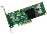 LSI Internal SATA/SAS 9211-8i 6Gb/s PCI-Express 2.0 RAID Controller Card, Single (LSI LOGIC: LSI00194)