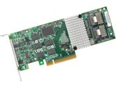 LSI MegaRAID 9261-8I 8 Port 6Gbps PCIEx8 512MB Low Profile SAS/SATA/RAID Controller Card No Cables (LSI LOGIC: LSI00212)