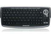IOGEAR GKM681R Black RF Wireless Keyboard with Optical Trackball and Scroll Wheel (IOGEAR: GKM681R)