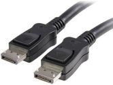 3FT DisplayPort to DisplayPort Cable With Latches (Startech.com Ltd: DISPLPORT3L)