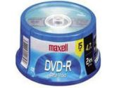 MAXELL DVD-R 4.7GB 16X RECORDABLE SPINDLE 15PK (MAXELL: 638006)