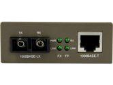 StarTech Gigabit SM Fiber Ethernet Media Converter SC (STARTECH: MCMGBSC15)