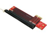 Startech PCI-E x1 to x16 Low Profile Motherboard Slot Extension Adapter (Startech.com Ltd: PEX1TO162)