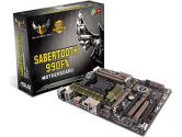 ASUS Sabertooth 990FX ATX AMD Motherboard (ASUS: SABERTOOTH990FX)