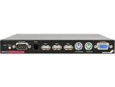 StarTech SV1115IPEXT 1 Port Server Remote Control KVM Over IP w/Virtual Media & Serial Control (STARTECH: SV1115IPEXT)