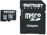Patriot LX  Series Class 10 8GB Micro SDHC Flash Card (Patriot Memory: PSF8GMCSDHC10)