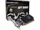 EVGA GeForce GT 520 (Fermi) 02G-P3-1529-KR Video Card (eVGA: 02G-P3-1529-KR)