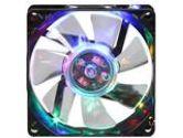 APEVIA CF8SL-B4C Multi-Color LED Case Fan w/Grill (APEVIA CORP.: CF8SL-B4C)