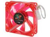 LOGISYS Computer LT80UVRD UV Red LED Case Fan (Logisys Computer: LT80UVRD)