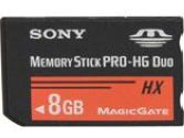 SONY 8GB Memory Stick PRO-HG Duo HX Flash Card (Sony: MSHX8B)