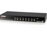StarTech SV831DUSBAU 8 Port Rack Mount USB VGA KVM Switch w/ Audio (STARTECH: SV831DUSBAU)