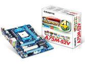 Gigabyte A75M-S2V mATX AMD FM1 A75 2PCI-E16 1PCI-E1 1PCI DDR3 HDMI DVI SATA3 USB 3.0 Motherboard (Gigabyte: GA-A75M-S2V)