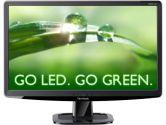 Viewsonic VA2033-LED 20IN Widescreen LED Backlit LCD Monitor 1600X900 5ms 10M:1 DVI VGA (ViewSonic: VA2033-LED)