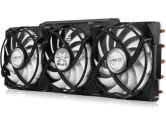 Arctic Cooling Accelero Xtreme Plus II VGA Cooler for NVIDIA and AMD Radeon 3X92MM 81CFM (Arctic Cooling: DCACO-V15G200-BL)