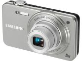 Samsung ST90 Digital Camera 14MP 7.76MM Wide Angle Lens 5X Optical Zoom 2.7IN LCD 720P Silver (Samsung Consumer Electronics: EZ-ST90ZZBPSCA)
