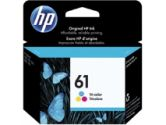 HP - HP Ink HP 61 TRI-COLOR Ink Cartridge (HP Commercial: CH562WC#140)