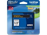 Brother - Labels - Laminated Tape - BLACK  Golden - Roll (Brother: TZE334)