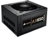 CORSAIR Professional Series Gold AX650 650W High Performance Power Supply (Corsair: CMPSU-650AX)