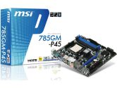 MSI 785GM-P45 785G mATX AM3 DDR3 PCI-E16 1PCI 2PCI-E1 HDMI Sound GBLAN Motherboard -FACTORY REFURB- (MSI/MicroStar: 785GM-P45 (refurb))