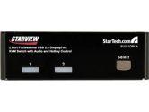 StarTech SV231DPUA 2 Port Professional USB DisplayPort KVM Switch with Audio (STARTECH: SV231DPUA)
