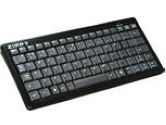 ZIPPY BT-500 (BK) Black Bluetooth Wireless Keyboard (AVS Gear: BT-500 (BK))