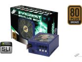 FSP Everest 85 Plus 800W ATX2.3 EPS2.92 20/24PIN Modular Power Supply 80PLUS Bronze 120MM SLI Ready (FSP GROUP USA: PPA8000505)