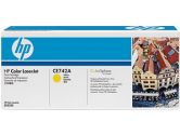 HP Clj CP5225 Yellow Cart (Hewlett Packard: CE742A)