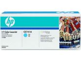HP Clj CP5225 Cyan Cart (Hewlett Packard: CE741A)