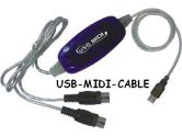 USB 1.1 to MIDI Cable (Others: USB1.1-M)
