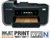 Lexmark Pro901 PR-LX1-90T9107 Color Inkjet Printer - 33 ppm Black, 30 ppm, Color,  4800 x 1200 dpi Color, 2400 x 1200 dpi Black, USB, Wifi, Copy, Scan, Fax (Lexmark: 4591175)