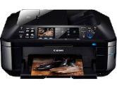 Canon MX882 4894B002 PIXMA Office All-In-One Color Inkjet Printer - 9600 x 2400 dpi, Duplex, Copy, Scan, Fax, USB 2.0, WiFi (Canon: 4894B002)