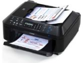 Canon MX410 4788B018 PIXMA Office All-in-One Color Inkjet Printer - 4800 x 1200dpi, ADF, 802.11b, 802.11g, 802.11n, USB, Copy, Scan, Fax, Wireless (Canon: 4788B018)