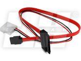 18 in SATA & Micro SATA 7+9PIN Cable for Mirco SATA Drive (Others: AT18PDM)