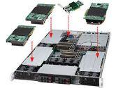 Supermicro Superserver 1026GT-TRF 2X1366 96GBDDR3 3PCI-E Dualgigabit 4XHSSATA 1800W PS (SuperMicro: SYS-1026GT-TRF)