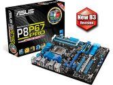 ASUS P8P67 Pro REV3.1 ATX P67 LGA1155 DDR3 3PCI-E16 2PCI-E1 2PCI Sandy Bridge B3 Motherboard (ASUS: P8P67 PRO REV 3.1)