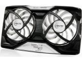 Arctic Cooling Accelero Twin Turbo II VGA Cooler for NVIDIA and AMD Radeon 2X92MM 54CFM (Arctic Cooling: DCACO-V540000-BL)