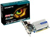 Gigabyte GeForce GT210 Passive Cooling 520MHZ 1GB 1.2GHZ GDDR3 DVI HDMI VGA PCI-E Video Card (Gigabyte: GV-N210SL-1GI)