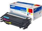 Samsung CYAN/MAGENTA/YELLOW 1K (Samsung Printer Supplies: CLT-P407A/XAA)