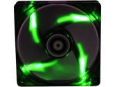 Bitfenix Spectre BFF-BLF-14025G-RP 140MM Green LED Case Fan 1000RPM 47.7CFM 20DBA 3/4 Pin (BitFenix: BFF-BLF-14025G-RP)