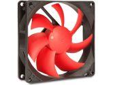 SilenX EFX-09-15 Effizio Silent Case Fan - 92mm, Fluid Dynamic Bearing, 15dBA, 1600 RPM, Red Blades (SilenX: EFX-09-15)