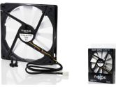 Fractal Design Silent Series 140MM Ultra Quiet Cooling Fan 600RPM 39CFM 9DBA (Fractal Design: FD-FAN-140)