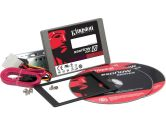 Kingston SSDNow V200 128GB 2.5IN SATA3 Solid State Disk Flash Drive Desktop Bundle Kit (Kingston: SV200S3D7/128G)