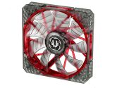 Bitfenix Spectre Pro BFF-LPRO-14025R-RP 140MM Red LED Case Fan 1200 RPM 86.73 CFM 22.8 dbA (BitFenix: BFF-LPRO-14025R-RP)