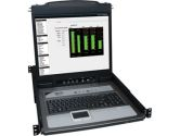 TRIPP LITE B020-U16-19-K NetDirector Console RM LCD KVM Switch with 8 Cables (Tripp Lite: B020-U16-19-K)