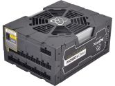 XFX PRO1050W Black Edition Single Rail ATX 12V 87A 24PIN ATX Full Modular 80PLUS Gold PSU (XFX: P11050BEFX)