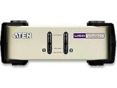 Aten 2 Port USB / PS2 KVM with Universal Cables included (Aten: CS82U)